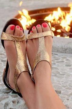 621c67b439e sandales pour femme tendance 2018 Dressy Flat Sandals