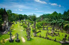 Where Buddha meets Shiva – Buddha Park in Vientiane