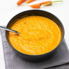 All the wonderful fall flavors in a soup bowl. This soup is prepared with carrot and ginger as the main ingredients and is spiked with a selection of heartwarming spices. The thick soup is not just pretty and vibrant to look at but is also wholesome and stuffed with nutritious elements. We love to prepare it when the days are getting shorter and colder. I have shared some flavor options too so that you can make this soup the way you and your family love it. Find the recipe in the post with…