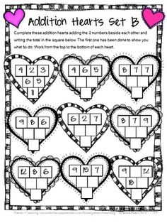 Valentine's Day Math Games, Puzzles and Brain Teasers from Games 4 Learning. Includes printable Valentine's Day math board games, printable Valentine's Day math puzzle sheets and Valentine's Day math brain teaser cards. $