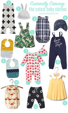 Team LC editor, Ilana, is sharing the cutest baby clothes on the blog today.
