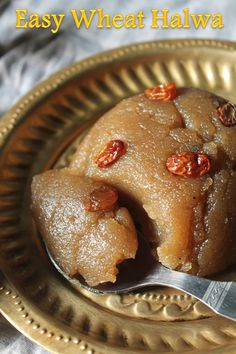 Easy Atta Halwa Recipe Atta Ka Sheera Recipe is part of Indian dessert recipes This recipe has been in my mind for quite a long time It is also called as Gothumai Halwa, Wheat Flour Halwa also Th - Indian Desserts, Indian Sweets, Indian Food Recipes, Easy Indian Dessert Recipes, Sweets Recipes, Snack Recipes, Cooking Recipes, Breakfast Recipes, Sheera Recipe