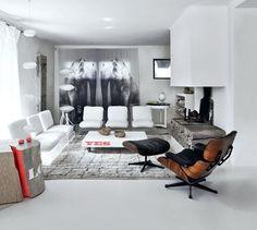 Savoureux mélange de styles pour le salon ... delicious blend of styles for this room ...