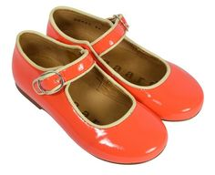 Girls Shoes in Mandarin from Bisgaard at Kidsen