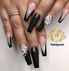 Check out Simone Love❤️ ❤️ – Long Nails – Long Nail Art Designs Acrylic Nails Coffin Glitter, Best Acrylic Nails, Acrylic Nail Designs, Nail Art Designs, Coffin Nail Designs, Coffin Nails, Glam Nails, Bling Nails, Stylish Nails