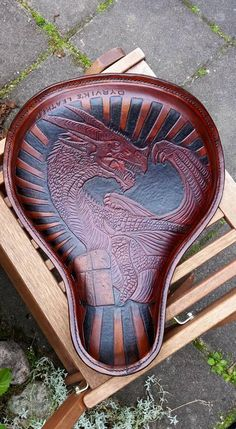 more leather seats at: http://www.lillawebfirman.se/ Leather craft, motorcycle tooled seats. Custom Dyrvik´s Leather