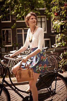 Garden Days Skirt #anthropologie #anthrofave