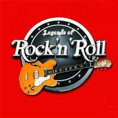Legends of Rock'n Roll - I like the lettering on this ...the circle could be a record & change the Roll to the 45's & on our 45th below with years 1968-2013 below the arm of the guitar