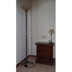 Wrought Iron Floor Lamp. Customize Realizations. 478