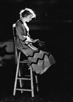 Lillian Gish by James Abbe, 1920