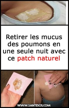 Retirer les mucus des poumons en une seule nuit avec ce patch naturel #mucusdespoumons #mucus #patchnaturel #remèdesnaturels Migraine Relief, Vicks Vaporub, Qigong, Weight Loss Tips, Detox, Health Care, Medical, Nutrition, Personal Care