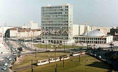 Berlin Mitte 1965. Alexanderplatz vor der Umgestaltung