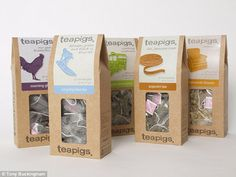 'Small' food firms really owned by global giants: Teapigs and Rachel's yoghurt among artisan brands that are actually owned by corporations. Packaging News, Packaging Design, Dorset Cereals, Flower Tea, Small Meals, Foods To Avoid, Great British, Artisan, Newspaper