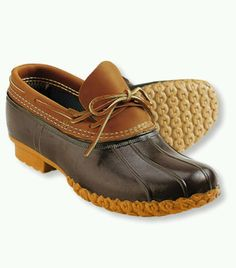 LL Bean Rubber Mocs Duck Boots in Clothing, Shoes & Accessories, Men's…