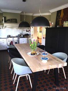 VOOR en NA | Binnenkijken in … Hellouw na metamorfose van een woonboerderij in modern landelijke stijl na STIJLIDEE Interieuradvies en Styling