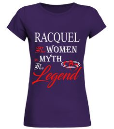 # RACQUEL THE MYTH THE WOMEN THE LEGEND .  RACQUEL THE MYTH THE WOMEN THE LEGEND  A GIFT FOR THE SPECIAL PERSON  It's a unique tshirt, with a special name!   HOW TO ORDER:  1. Select the style and color you want:  2. Click Reserve it now  3. Select size and quantity  4. Enter shipping and billing information  5. Done! Simple as that!  TIPS: Buy 2 or more to save shipping cost!   This is printable if you purchase only one piece. so dont worry, you will get yours.   Guaranteed safe and secure…