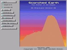 Scorched Earth in pc back in the day. Anyone remember this game?