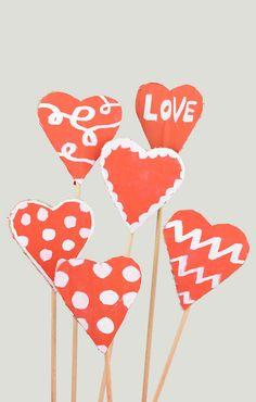 Cardboard Valentines
