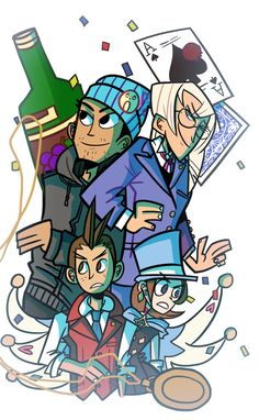The real mystery in Apollo Justice is how Phoenix got so intelligent, and then how he manages to lose it right before Dual Destinies.
