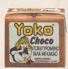 Yoko choco milk ღ My Childhood Memories, Sweet Memories, Vintage Soul, Vintage Ads, Old Advertisements, Retro Images, 90s Nostalgia, Retro Ads, 80s Kids