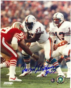 Autographed Dwight Stephenson Miami Dolphins 8x10 Photo