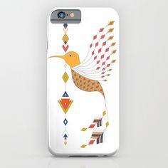 Vintage ethnic tribal aztec bird iPhone & iPod Case