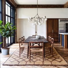 Cheap Decor, Studio Interior, Dining Room Inspiration, Herringbone Floor, House, Luxury Homes Interior, Home Decor, House Interior, French Apartment