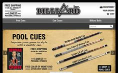 We developed E-commerce website namely Billiyard Inc. providing best products for pool players at the lowest prices