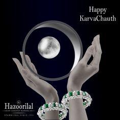 Complete the circle of love this #KarwaChauth with exclusive bangles from the House of #HazoorilalBySandeepNarang  #HazoorilalCelebrates #Emeralds #Diamonds #Bangles #ItcMaurya #DlfEmporio #HazoorilalJewellersGK #FineJewellery #FestiveCollection #Hazoorilal