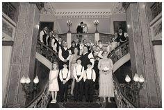 1920's themed wedding @ The Seelbach Hotel | Pfanntastic Photography | Louisville Wedding Photographer
