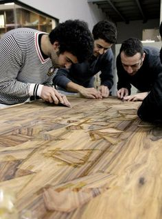 Contemporary Wood Marquetry