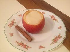 muhallebili elma tatlısı - apple dessert with pudding