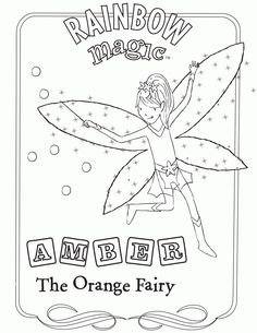 rainbow magic coloring pages coloring pages rainbow magic rainbow magic fairies dan free. Black Bedroom Furniture Sets. Home Design Ideas