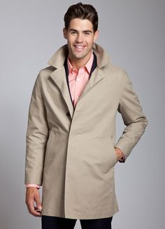 Bonobos Men's Clothes - Khaki Trench Coats for Men | Bonobos ($200-500) - Svpply