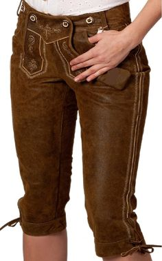 Artical Nmae:Damen Kniebund Lederhosen  Price:20 euro MOQ:20 Pieces Size:32,34,36,38,40,42,44,46,48,50,52,54,56,58,60. Deleviry:Depend on Order Quantity Material:Made of Fine Quality cow suede Leather.
