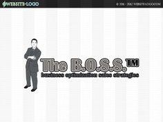 Website Logo for The B.O.S.S Website Logo, Sales Strategy, Unique Logo, Branding Your Business, Brand You, Identity, Logo Design, Logos, Creative