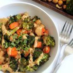 Chickpea Broccoli Buddha Bowl