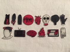 twenty one pilots blurryface pins