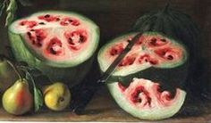 Next time you bite into a slice of watermelon or a cob of corn, consider this: these familiar fruits and veggies didn't always look and taste this way. Genetically modified foods, or GMOs, inspire strong reactions nowadays, but humans have been. Fruit And Veg, Fruits And Vegetables, Watermelon Pictures, Cut Watermelon, Watermelon Painting, Mind Blowing Images, Selective Breeding, Genetically Modified Food, Genetics