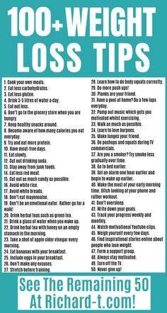 The ultimate weight loss tips list! Make sure you try all of these out when trying to lose weight! #weightlosstips #loseweight