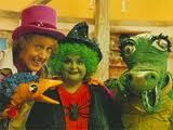 Rod Hull, Emu and Grotbags. Can't remember the name of the croc.