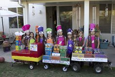 Mobile Girl Scout Cookie Booth