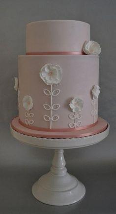 Anemone Cake Wedding