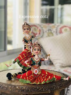Indian Dolls, Diwali Decorations, Indian Festivals, Cute Dolls, Fabric Dolls, Bjd, Creative Art, Statues, Crafts For Kids