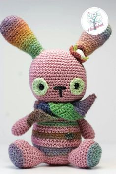 Crochet little Bunny www.dehaakfabriek.nl