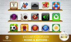design Professional app ICON on Fiverr by tungnewtek