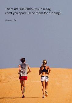 Make time to run