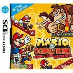 Mario Vs Donkey Kong Mini Land Mayhem Nintendo DS Game available for sale. Donkey Kong, Mini Mario, Wi Fi, Playstation, Ds Games, Nintendo Games, Nintendo Dsi, Video Game Console, Decoration