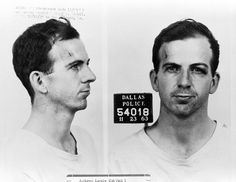 Lee Harvey Oswald — arrested in 1963 for the assassination of President John F. Kennedy.