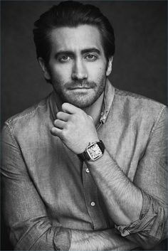 f7ca473d5a Matthew Brookes photographs Jake Gyllenhaal for a Santos de Cartier  campaign. Cartier